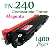 Compatible Brother TN240 Magenta