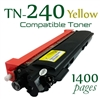 Compatible Brother TN240 Yellow