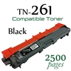 Compatible Brother TN261 Black