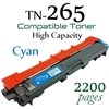 Compatible Brother TN261 TN265 Cyan