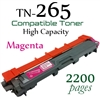 Compatible Brother TN261 TN265 Magenta