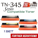 Compatible Brother TN345 TN340 Set