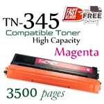 Compatible Brother TN345 TN340 Magenta