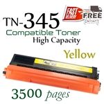 Compatible Brother TN345 TN340 Yellow