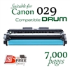Compatible Canon 329 Black, 029 Drum cartridge