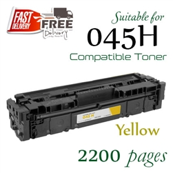Compatible Canon 045H Yellow