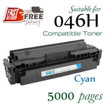 Compatible Canon 046H Cyan