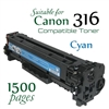 Compatible Canon 316 Cyan