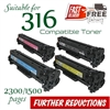 Compatible Canon 316 set