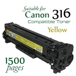 Compatible Canon 316 Yellow
