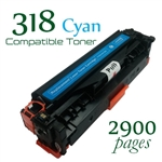 Compatible Canon 318 Cyan