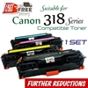 Compatible Canon 318 set