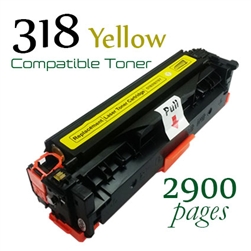 Compatible Canon 318 Yellow