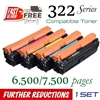 Compatible Canon 322 set