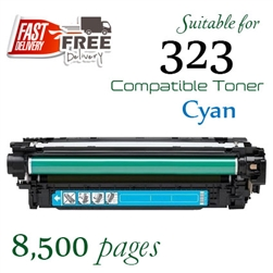 Compatible Canon 323 Cyan