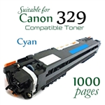 Compatible Canon 329 Cyan