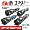 Compatible Canon 329 set