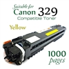 Compatible Canon 329 Yellow