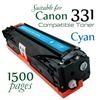 Compatible Canon 331 Cyan