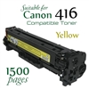 Compatible Canon 416 Yellow