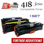 Compatible Canon 418 set