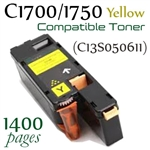 Compatible Epson C1700 C1750 Yellow (C13S050611)