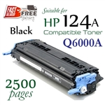 Compatible HP 124A Black Q6000A, Q6001A, Q6002A, Q6003A