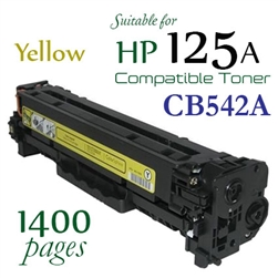Compatible HP 125A Yellow CB540A CB541A CB542A CB543A