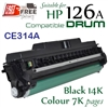 Compatible HP 126A Print Drum, CE314A