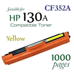 Compatible HP 130A Yellow CF350A CF351A CF352A CF353A