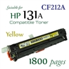 Compatible HP 131A Yellow CF210A CF211A CF212A CF213A