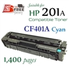 Compatible HP 201A Cyan