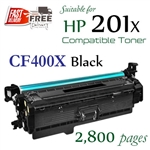 Compatible HP 201X Black