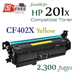 Compatible HP 201X Yellow