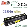 Compatible HP 202A Yellow CF500A CF501A CF502A CF503A
