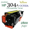 Compatible HP 304A Yellow CC530A CC531A CC532A CC533A