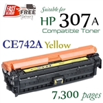 Compatible HP307A Yellow
