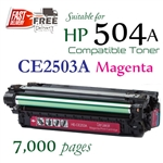 Compatible HP 504A Magenta CE253A
