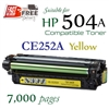 Compatible HP 504A Yellow CE252A