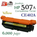 Compatible HP 507A Yellow CE400A CE401A CE402A CE403A