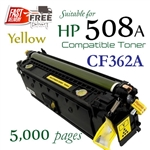 Compatible HP 508A Yellow CF360A CF361A CF362A CF363A