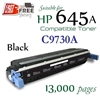 Compatible HP 645A Black C9730A C9731A C9732A C9733A