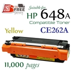 Compatible HP 647A Yellow CE260A CE261A CE262A CE263A