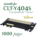 Compatible Samsung CLT-K404 Yellow
