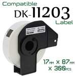 Brother DK11203 Label