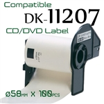 Brother DK11207 Label