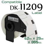Brother DK11209 Label