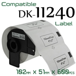Brother DK11240 Label