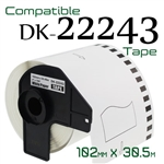 Brother DK22243 labelling Tape