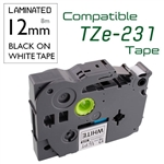 Compatible Brother TZe labelling Tape